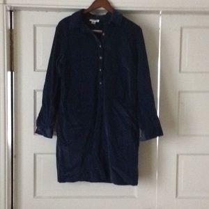 Talbots Corduroy long sleeved dress